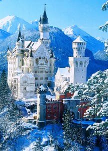Замок Нойшванштайн - жемчужина Баварских Альп (https://www.flickr.com/photos/72213316@N00/)