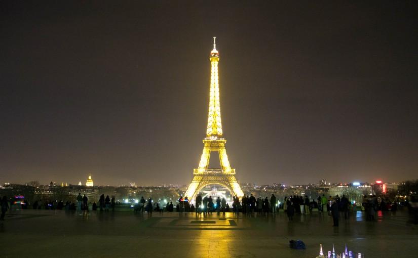 Эйфелева башня — главный символ Парижа