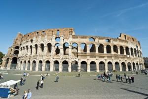 Колизей - символ величия Римской Империи (https://www.flickr.com/photos/swampa/)